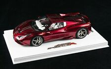 1/18 BBR FERRARI 458 SPECIALE A COUPE GLOSS FUCHSIA  DELUXE BASE LE 10 PCS N MR