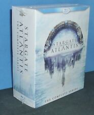 Stargate Atlantis: The Complete Series (Blu-ray Disc, 2011, 20-Disc Set)