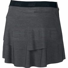 nike GOLF INNOVATION LINKS SKIRT +  ATTACHED SHORTS GREY SIZE LARGE DRI FIT