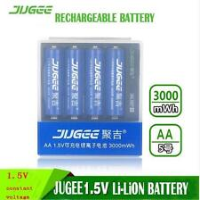 4 x 1.5v 3000mWh AA  li-ion polymer lithium rechargeable battery + USB Charger