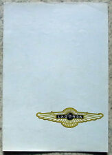 ASTON MARTIN LAGONDA Car Sales Brochure 1975