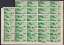 RYUKYU-JAPAN, 1951. Air C5 Block 49, Mint **