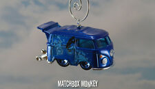 VW Kombi Bus Van Blue Meanie The Beatles Yellow Submarine Christmas Ornament T1