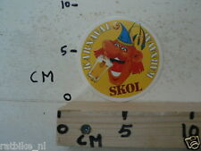 STICKER,DECAL SKOL BIER KARNAVAL B