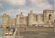 Postcard: Caernarvon Castle - View From The South-East/Queen's Gate (1966)