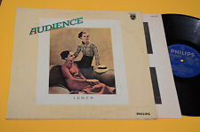 AUDIENCE LP LUNCH 1°ST ORIG ITALY 1972 EX++ LAMINATED COVER TOP COLLECTOR