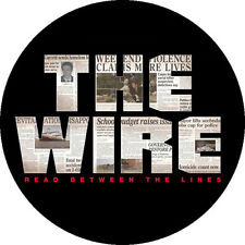CHAPA/BADGE THE WIRE . pin button sopranos breaking bad juego de tronos eerie