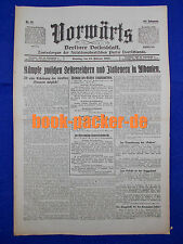 VORWÄRTS (13. Februar 1916): Kämpfe zwi Oesterreichern u. Italienern in Albanien