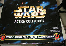 "Star Wars Collectors Series Wedge Biggs pilots FAO 2 pack 12"" deluxe MIB  1012"