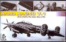 Unicraft Models 1/72 ARADO Ar-240 V.1 German Prototype Dive Bomber