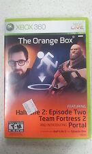 The orange box xbox 360