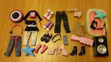 **Bratz Dolls Clothes,Shoes & Accessories 23 items Approx**Some Rare*
