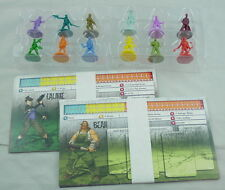 Zombicide Season 3: Rue Morgue Character Miniatures (12 Minis) Zombiecide w/Card