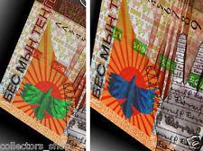 KAZAKHSTAN: Commemorative banknote 5000 (5.000) Tenge 2008 *SPARK EAGLE*UNC