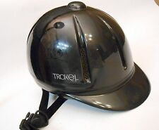 TROXEL LEGACY Horse Riding Helmet Adjustable Black Size Small