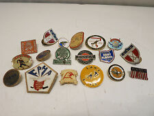 Vintage LOT Pin Pushback & Others Hockey Lots of variety, one USA!