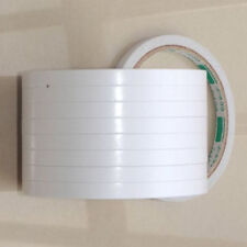 HIGH QUALITY 8MM 5 ROLLS DOUBLE-SIDED WHITE SUPER STRONG ADHESIVE TAPE