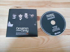CD Indie Cinnamon Loves Candy - Superpower (4 Song) Promo BRILLJANT ALT cb