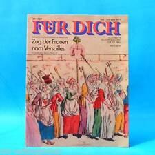 DDR FÜR DICH 29/1989 Günstedt Beppo Küster Kaskadeure Rosemarie Ackermann Mode A