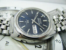 VINTAGE SEIKO 5 ACTUS 6106-7520 AUTOMATIC GENTS KANJI WITH BEADS OF RICE BAND.