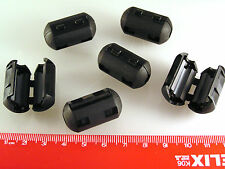 6 x WRC-50R Ferrite Filter Clips On 5.2mm Internal Diameter 6 Pieces OM996