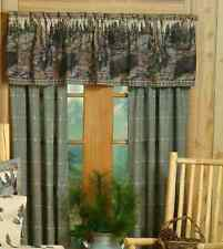 "Kimlor Black Bear Valance Tailored 88"" x 18"", 09075600032BRT"