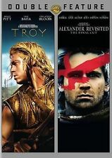 Troy / Alexander Revisited: The Final Cut (DVD, 2014, 2-Disc Set, Unrated) NEW