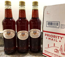 Premium Pure Sugar Cane Syrup- Parrish's -  25.4 Ounce Bottles (Pack of 3)