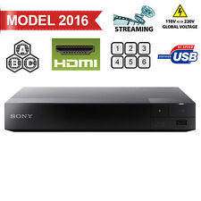 2016 Sony S1700 Region Free DVD & BD ZONE ABC Blu-Ray Disc Player- USB- 100-240V