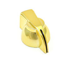(1) Gold Finish Chicken Head Knob For Solid Shaft Guitar/Bass/Amp/Pedal P-300GLD