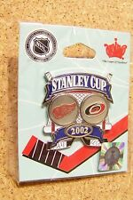 Detroit Red Wings vs Hurricanes 2002 Stanley Cup pin SC