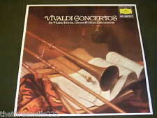 VINYL LP - VIVALDI CONCERTOS FOR FLUTES, HORNS, OBOES & OTHERS - 413 663 - 1