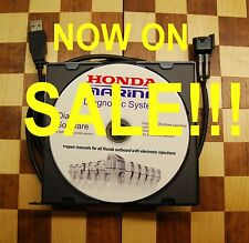 Honda Marine Professional Diagnostic cable set+repair manuals for  HONDA EFI