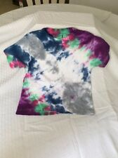 New Homemade Tie Dye Unisex Children's T Shirt Size Small.. Approx 5-6