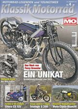 KM1504 + Zenith-Martlet +GILERA CX 125 + TRIUMPH S 350 + Klassik Motorrad 4/2015