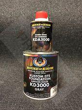 HOUSE OF KOLOR KD3000/KDA3000 GRAY KUSTOM DTS FOUNDATION SURFACER/SEALERS (Qt)