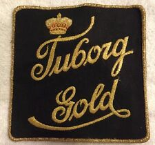 Tuborg Gold Cloth Beer Patch New