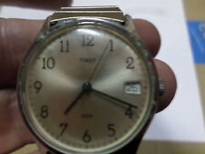 Vintage Men's Timex Automatic #Date Wristwatch Water Resistant Working Condition