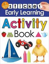 Sticker Early Learning: Activity Book by Roger Priddy (2016, Paperback)