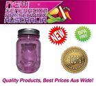 12 x Aussie mason PINK Regular Mouth Pint Preserving bottles & Lids, Ball mason