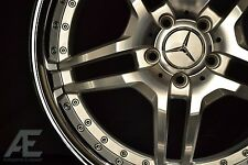 19-inch Mercedes S430 S500 S550 S600 Wheels/Rims RW2 Silver CL