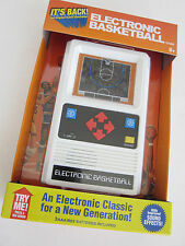 ELECTRONIC BASKETBALL 1970's retro mattel Classic handheld travel  video game