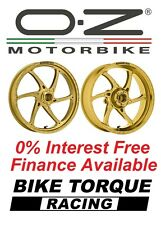 Kawasaki ZX-10R 06-10 OZ Gass Wheels Gold 0% Interest Free Available