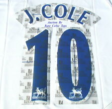 Lextra 97-06 Chelsea ' J. Cole 10 ' EPL Player Issue Shirt Name Number Set