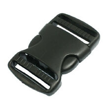 "Wholesale 1 1/2"" Replacement Belt Connecting Black Plastic Quick Release Buckle"