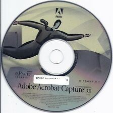 ADOBE ACROBAT CAPTURE 3.0 (CD and key)