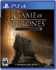 Game of Thrones USED SEALED (Sony PlayStation 4, 2015)