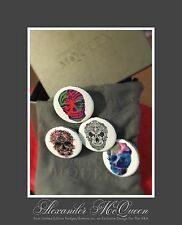 """Alexander McQueen Limited Edition Badges From """"Savage Beauty"""" Exhibition @ V&A"""