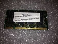 Memoria SoDimm DDR Infineon HYS64D32020GDL-6-B 256MB PC2700 333MHz CL2.5 200 pin