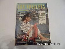 LES VEILLEES DES CHAUMIERES N°94 30/06/1956 JACQUELINE PASSARD ROMANS MODE  I94